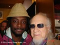 Henry Stone with Will.I.Am. (Black Eyed Peas)