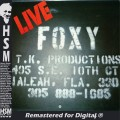 Foxy  Live
