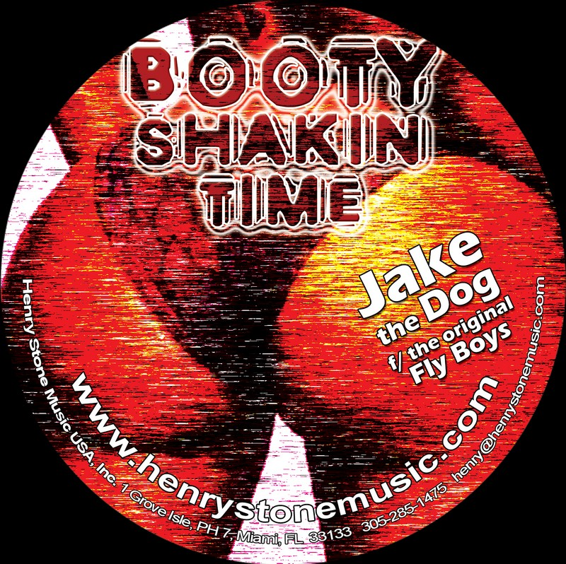 Booty Shakin Time Single CD Print