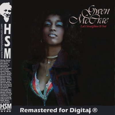 Gwen McCrae Lets Straighten It Out CD Insert